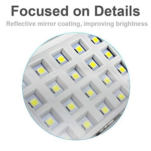 Luz Solar AHOME 600lm, 46LED Lámpara Solar Exterior, 270° Gran Angular de Iluminación, 120° Sensor de Movimiento, Foco Solar Impermeable IPX65 para Jardín, ...
