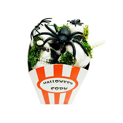 Spider Halloween Party Bloody Scary Fake Popcorn Trick Toys Home Party Decor by Rocky's Rocket
