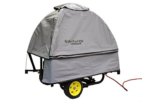 Generator Side Cover (GenTent 10K -Universal Kit - Standard Edition - 3000w-10000w Portable Generators - GreySkies Color)