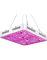 Roleadro LED Grow Light, Reflector-Series 600W Red Bule Full Spectrum Grow Lamp, Dual-Chip Plants Lamp for Hydroponic Indoor Plants Vegetative and Flower