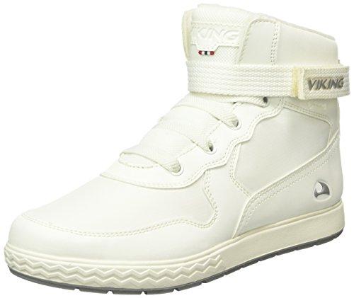 Viking Unisex-Kinder Vigra High-Top Weiß (White/Light Grey 189)