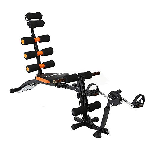 Office Bird Six Pack ABS Toner | ABS Exerciser | Home Fitness Pump | Gym Six Pack Cruncher | Packs Body Builder  with Cycle  amp; Without Cycle