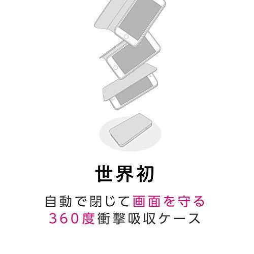 iDress CAT FLIP 自動で閉じて画面を守る iPhoneケース iPhone8/7/6s/6 GIRLSi ホワイトスター i32DGI02