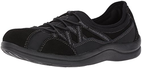Black Easy Laurel Women's Leather Suede Leather Flat Street pAIw4