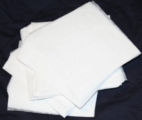 200 PreCut Tear Away Machine Embroidery Stabilizer backing Sheets 8x8inch fits Hoop 4x4 for Embroidery from (Floriani Embroidery Software)