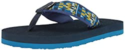 Teva Unisex-kids K Mush Ii Flip-flop, Robbie Blue, 2 M Us Little Kid