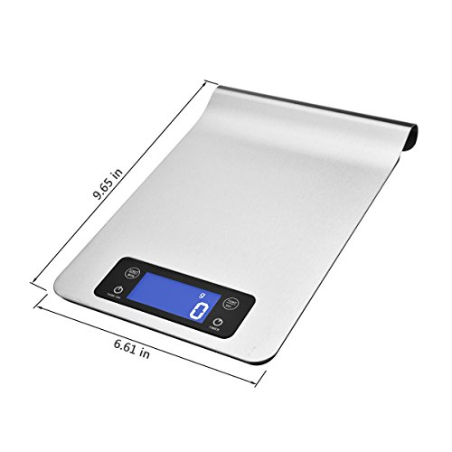 Waoaw 5000g 1g digital stainless kitchen food scale with for Perfect kitchen pro smart scale