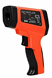 Geatex GXT60 Dual Laser Instant-read IR Non contact Digital Temperature Gun with Dual Laser Sight Targeting