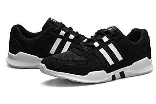 Hommes Derby Chaussures Automne Et Hiver Mode étudiants Occasionnels Oxford Chaussures Toile Chaussures De Sport Chaussures De Course Black SzlAumGcM