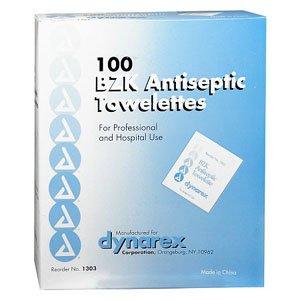 - PYD35185 - Hygea BZK Antiseptic Towelette 7 x 5-1/2