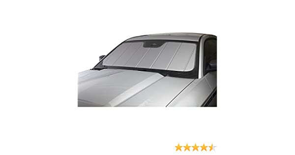 1 Pack Covercraft UV10370SV Silver UVS 100 Custom Fit Sunscreen for Select Toyota Land Cruiser Models Laminate Material