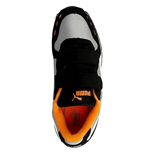 Puma - Cabana Racer - 35637316 - Color: Gris-Naranja-Negro - Size: 22.0