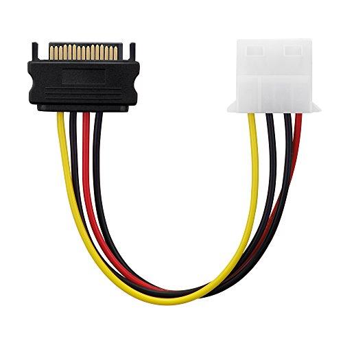 adaptare 34102 Netzteil-Adapter-Kabel 15-polig: Amazon.de: Computer ...