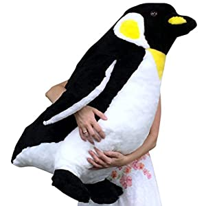 American Made Giant Stuffed Penguin 30 Inch Big Soft Stuffed Animal Made in USA America - 41pVd15kZ7L - American Made Giant Stuffed Penguin 30 Inch Big Soft Stuffed Animal Made in USA America