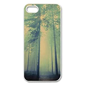 Stanislaus National Forest California Watercolor style Cover iPhone 5 and 5S Case (Forests Watercolor style Cover iPhone 5 and 5S Case)