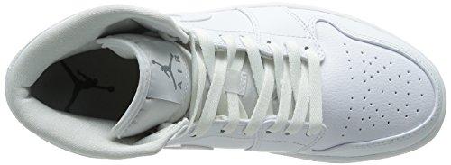 White Mid Scarpe Jordan Uomo Sportive white Cool Air 1 Grey NIKE BPSqx