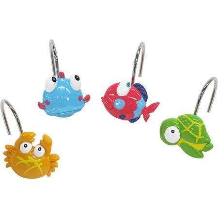 Mainstays Something's Fishy Shower Hooks by Mainstay