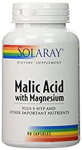 Solaray - Malic Acid With Magnesium, 90 capsules by Solaray