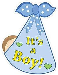 Welcome Home It's a Boy New Baby Door Sign - Newborn...