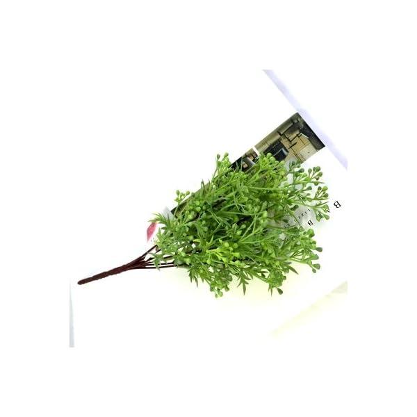FYYDNZA-Mini-Dwarf-Pearl-Grass-Water-Aquatic-Plant-Moss-Aquarium-Grass-Artificial-FlowersVerde