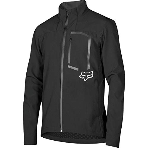 Fox Racing Attack Fire Softshell Jacket - Men's Black, XL ()