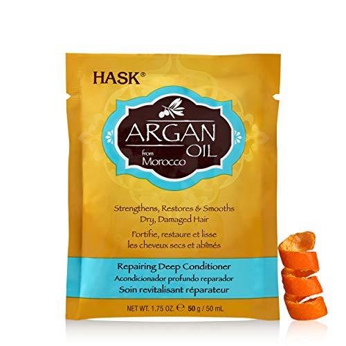 (HASK Argan Oil Repairing Deep Conditioner, 12 Count)