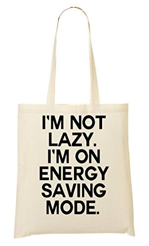 I'M Not I'M On Energy Saving Mode Bolso De Mano Bolsa De La Compra