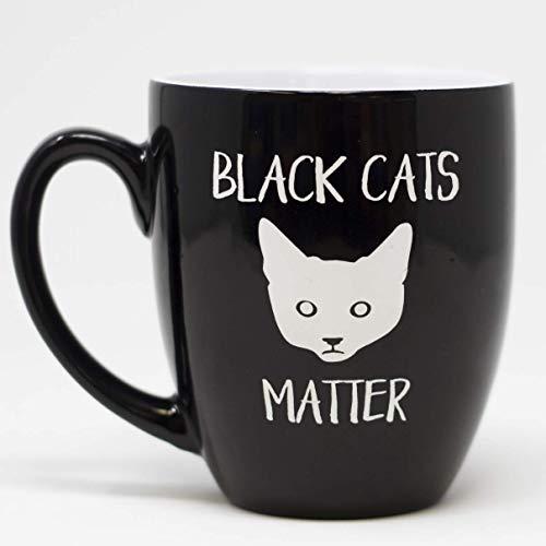 Funny Sarcastic Halloween Mug - Black Cats Matter -