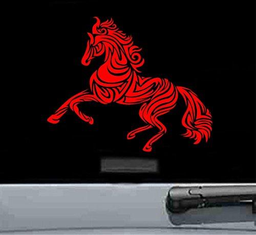 Chinese zodiac horse Vinyl Decal Sticker (RED)