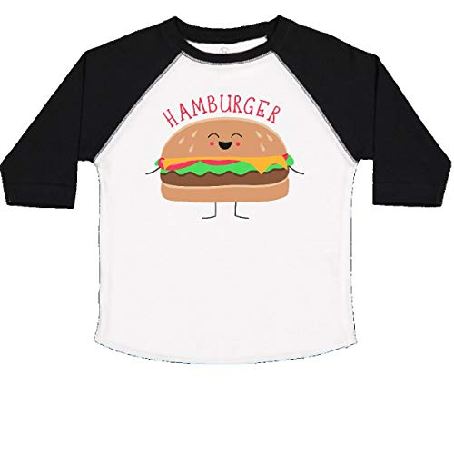 inktastic - Hamburger Costume Toddler T-Shirt 4T White and Black 31d0b]()