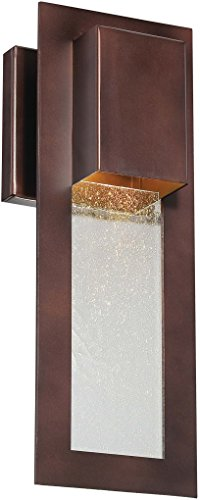 - Minka Lavery Modern Outdoor Wall Light 72381-246 Westgate Dark Sky Exterior Wall Lantern, 35w Halogen, Bronze