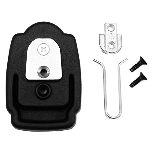 Brandmotion 5000-CAMLOCK Cam Lock Windshield Mirror Adapter Bracket Mount for Honda