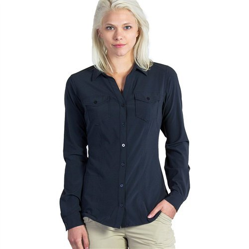ExOfficio Kizmet LS Shirt - Women's Black Small