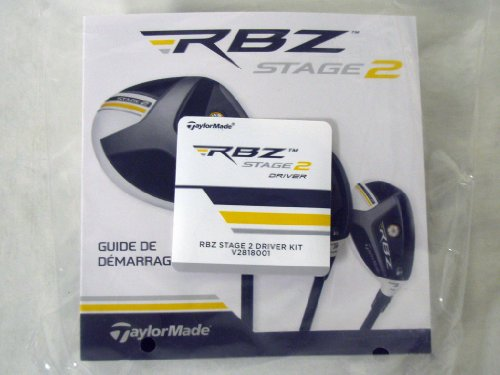 Taylor Made Stage 2 Driver Accessory Kit (Club Wrench/Tool & Instructions) NEW (Taylormade Rbz Stage 2 Driver)