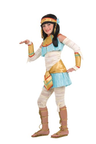 Rubie's Drama Queens Child Egyptian - Ista Costume - Small (4-6) (Kids Mummy Costumes)