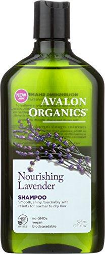 Avalon Organics Shampoo, Nourishing Lavender, 11...