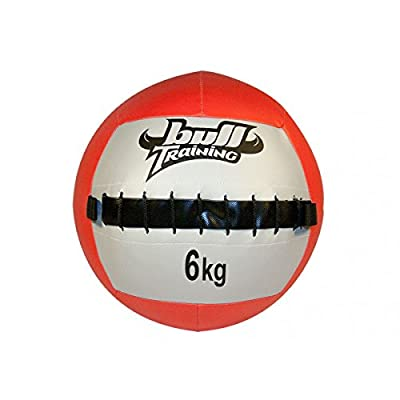Bull Training Wall Ball 6 kg en polyuréthane souple