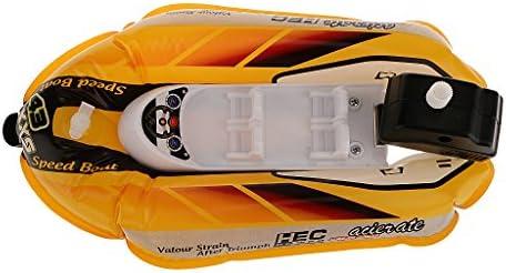 時計じかけ スピードボート  プール風呂のおもちゃ インフレータポンプ付き 約21.5 x 13.8 cm