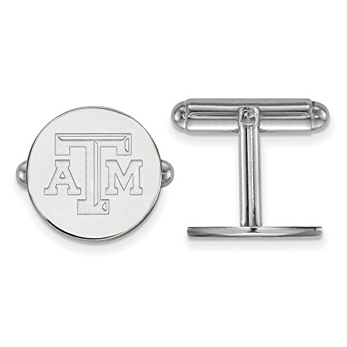 Texas A&M Cuff Links (Sterling Silver) ()