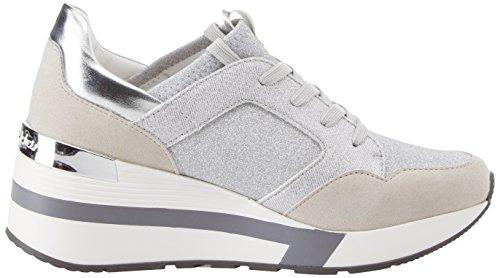 Running Mujer argento 036 Byblos Plateado Zapatillas Para Glam d8wxqg