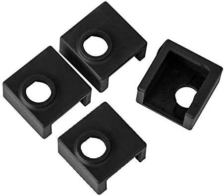 TUZUK Impresora 3D Bloque calentador Cubierta de silicona MK7 ...