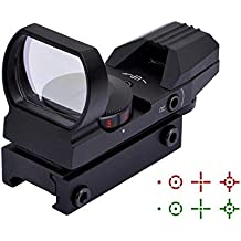 Electro DOT Sight Field Sport Red and Green Reflex Sight with 4 Reticles