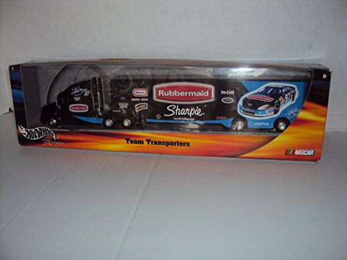 Hot Wheels Team Transporter Rubbermaid Sharpie Kurt Busch