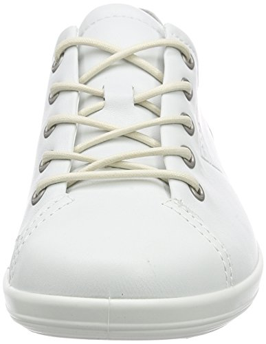Ecco Ladies Soft 2.0 Derby White (1007white)