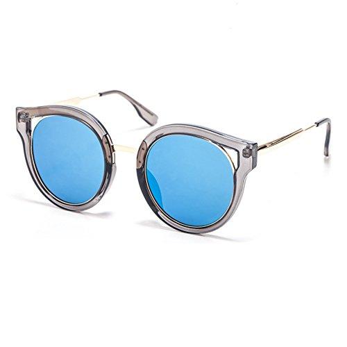 Chahua Personnalisé européens et américains de la mode lunettes multicolores, les vents, la marée d'hommes et femmes lunettes de soleil,