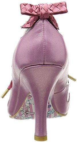 Irregular Choice Meadow Mist, Zapatos tacón Mujer Rosa (Pink)