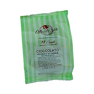 ODC Capsule compatibili con macchina da Caffè sistema Nespresso kit formato da 100 cialde Cioccolato con chiusura salva…