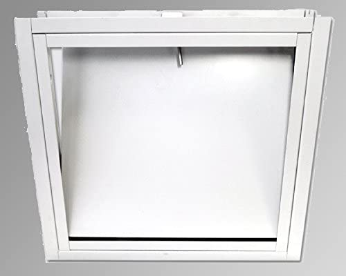 Acudor FW-5050-UP Insulated Fire Rated Access Door 24 x 24, White 41pVkzHXIgL