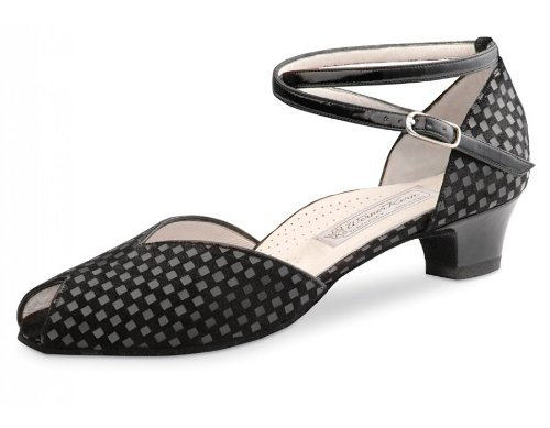 Werner Kern Women's Lola - 1 1/2'' (3.4 cm) Thick Heel, Comfort Line, 7.5 M US (4.5 UK) by Werner Kern