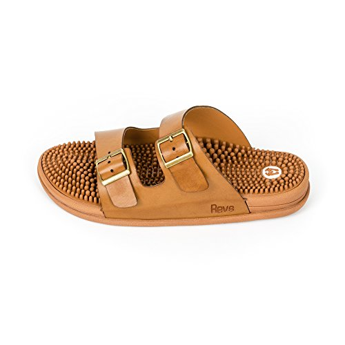 Men Arch amp; Reflexology Sandals Sandals Revs Women for Tan Shock Cushion Absorbing Support amp; Comfort Seva OXqn7S